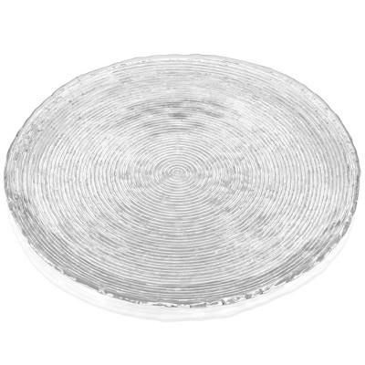 Noritake Hammock Glass Round Platter