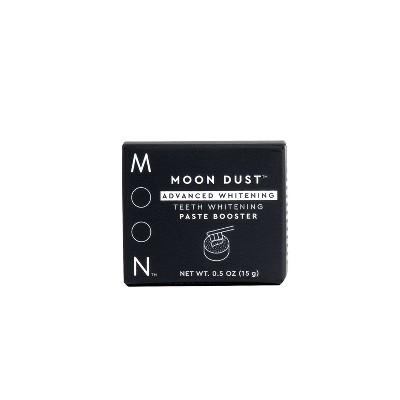 Moon Dust Teeth Whitening Paste Booster Advanced Whitening - 0.5oz