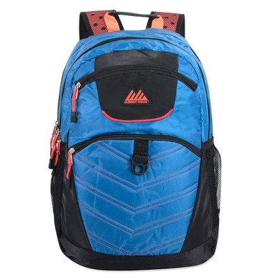 """Summit Ridge 19"""" Double Section Backpack - Blue"""