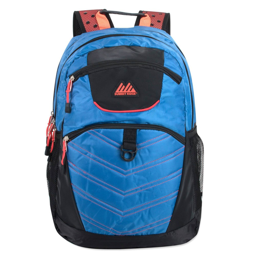 """Image of """"Summit Ridge 19"""""""" Double Section Backpack - Blue"""""""