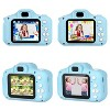 """Dartwood Digital Camera for Kids and Children - 2"""" Color Display Screen 1080p 3-Megapixels, Micro-SD Card Slot (32GB SD Card Included) (2 Pack) - image 4 of 4"""