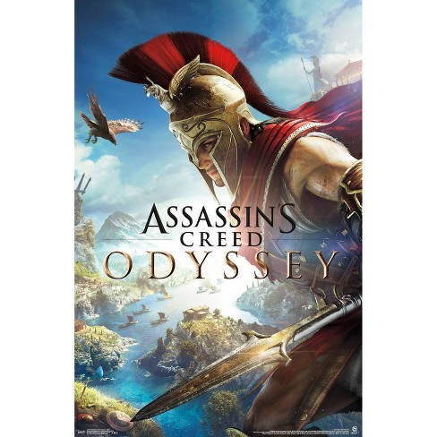 """34""""x23"""" Assassin's Creed Odyssey Fight Unframed Wall Poster Print - Trends International - image 1 of 2"""