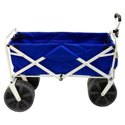 Mac Sports All Terrain Collapsible Wagon - Blue