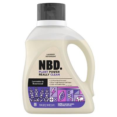 NBD Lavender & Rosewood Liquid Laundry Detergent - 70 fl oz