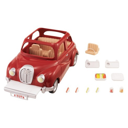 Calico Critters Cherry Cruiser - image 1 of 3