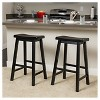 Set of 2 Pomeroy Saddle Barstool - Christopher Knight Home - image 2 of 4
