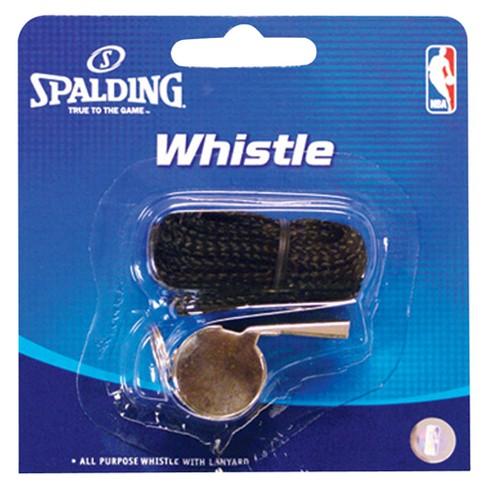 Spalding Basketball Metal Whistle with Lanyard - image 1 of 1