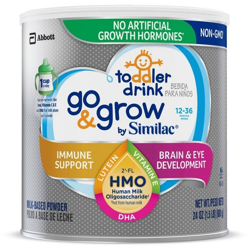 Go & Grow by Similac Toddler Drink Non-GMO Powder - 24oz - image 1 of 2