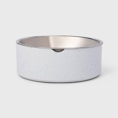 Speckle Melamine Dog Bowl - Gray - 13oz - Boots & Barkley™