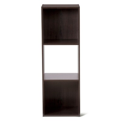 3-Cube Organizer Shelf Dark Brown 11  - Room Essentials™