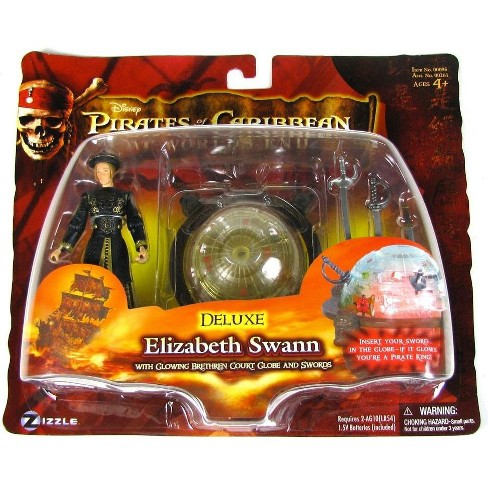 Pirates of the Caribbean At World's End Series 3 Elizabeth Swann Action Figure [Deluxe] - image 1 of 1