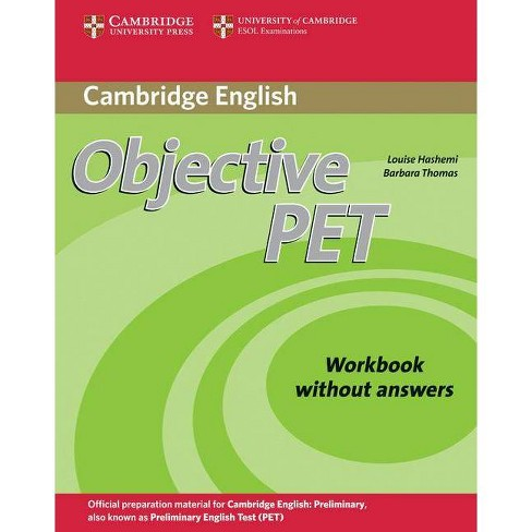 Objective PET Workbook Without Answers - (Cambridge Books for Cambridge Exams) 2 Edition (Paperback) - image 1 of 1