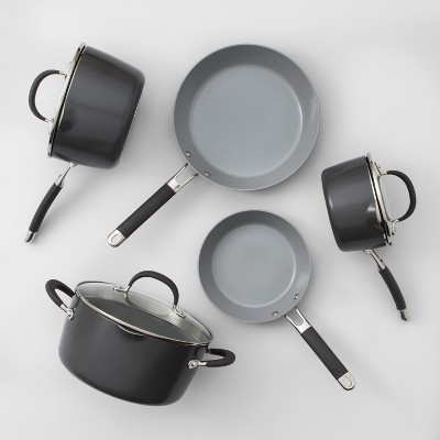 Ceramic Coated Aluminum Cookware Set 8pc - Made By Design™