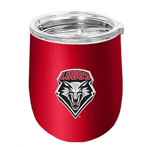 NCAA New Mexico Lobos Matte Stainless Steel Wine Tumbler - image 1 of 1
