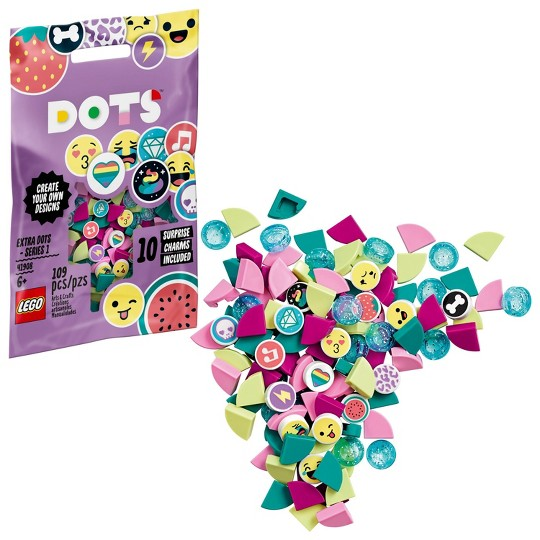LEGO DOTS Extra DOTS - Series 1 DIY Imaginative Play Craft Decoration Kit 41908 image number null
