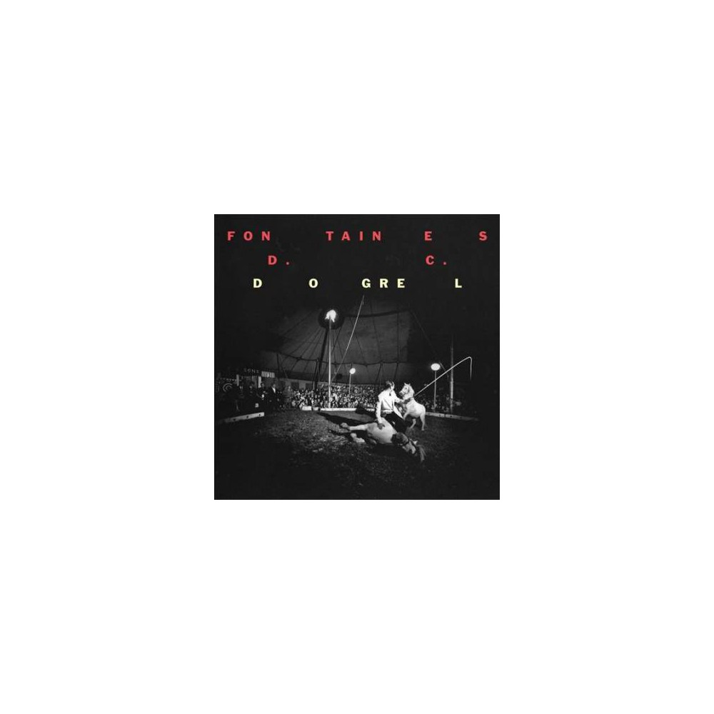Fontaines D.C. - Dogrel (CD)