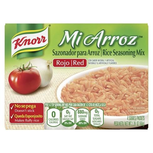 Knorr Mi Arroz Rice Seasoning Mix Red - 4ct - image 1 of 4