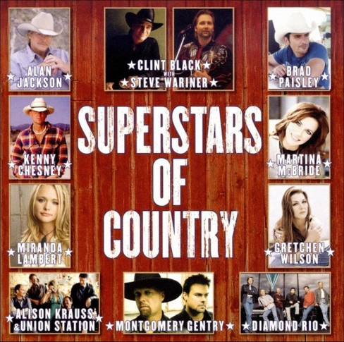 Various - Superstars of country (CD) - image 1 of 1