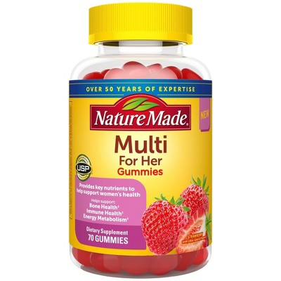 Nature Made Multi for Her Gummies - 70ct