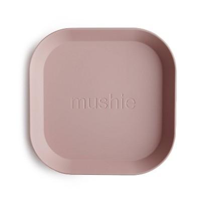 Mushie Square Dinner Plate - Blush