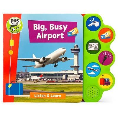 Big, Busy Airport - by Jaye Garnett (Board Book)