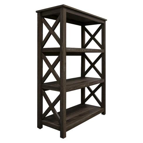 4465 Open Format 3 Shelf Bookcase