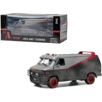 "1983 GMC Vandura Van Weathered Version with Bullet Holes ""The A-Team"" (1983-1987) TV Series 1/24 Diecast Model by Greenlight"