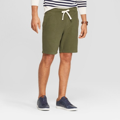 Men's Elevated Knit Shorts - Goodfellow & Co™ Green - image 1 of 3