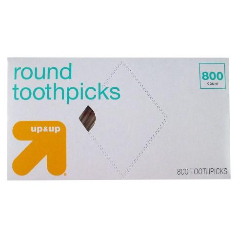 Round Toothpicks - 800ct - Up&Up™ - image 1 of 1