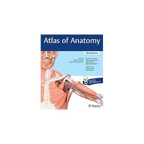 Atlas Of Anatomy New Paperback Michael Schuenke Md Erik