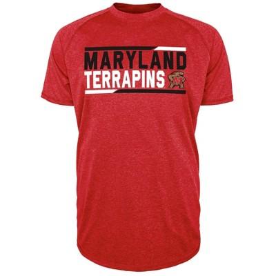 NCAA Maryland Terrapins Men's Short Sleeve Performance T-Shirt