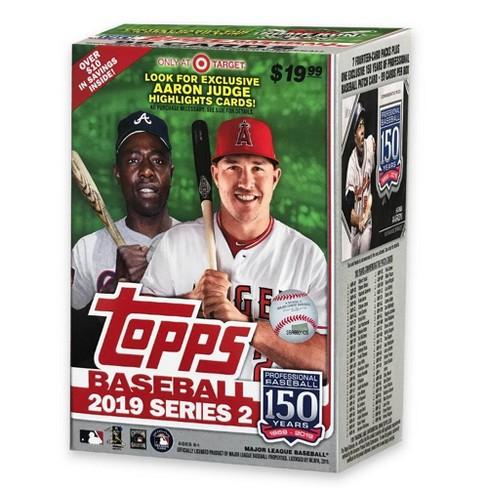 2019 Topps Mlb S2 Baseball Trading Card Blaster Box Target Exclusive