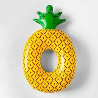 Sun Squad Pineapple Pool Float (Yellow)