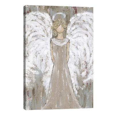 Farmhouse Guardian Angel By Ashley Bradley Unframed Wall Canvas - iCanvas