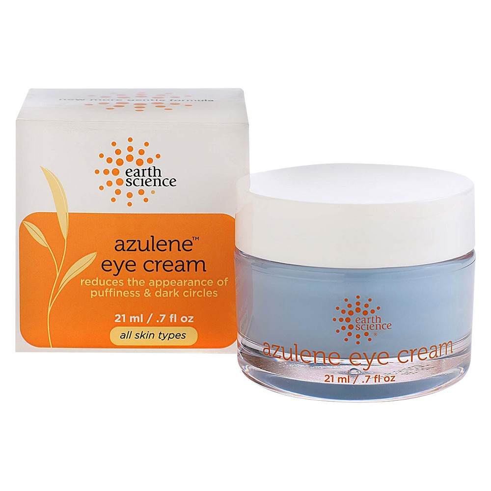 Image of Unscented Earth Science Azulene Eye Cream - 0.7oz