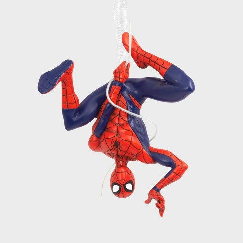 Hallmark Spider-Man Hanging Up-side-down Christmas Ornament - image 1 of 4