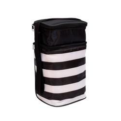 J.L. Childress 6 Bottle Cooler - Black Stripe