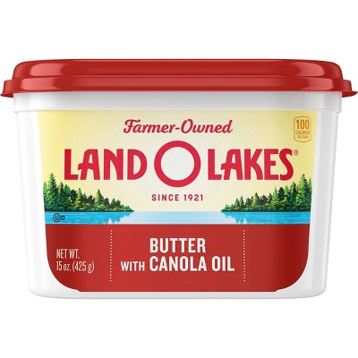 Land O Lakes Butter with Canola Oil - 15oz