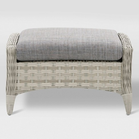 Parkview Footstool - Light Gray - CorLiving - image 1 of 5