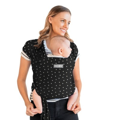 Moby Wrap Featherknit Baby Wrap Carrier - Micro Mickey Mouse
