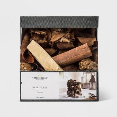 Unscented Wood Vase Filler Brown - Threshold™