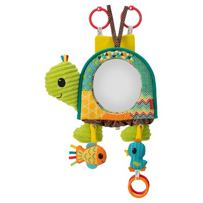 Infantino Baby Turtle Activity Mirror Multicolored