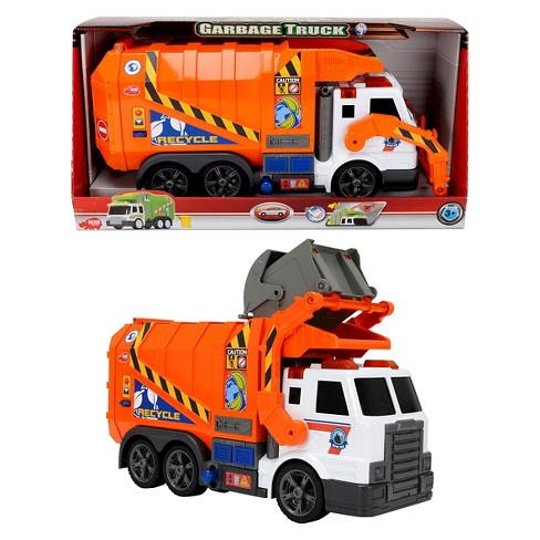 Dickie Toys Action Series 16 Inch Garbage Truck - image 1 of 4