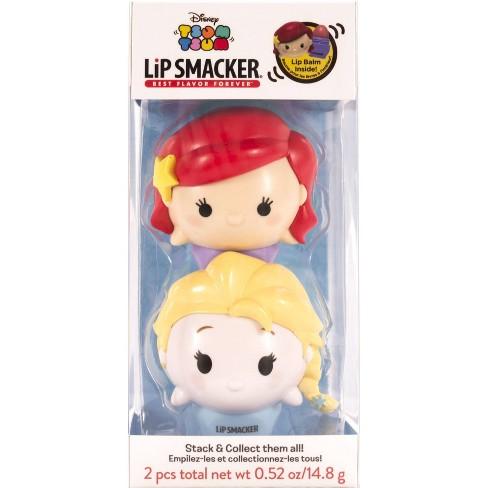 Lip Smacker Disney Tsum Tsum Lip Balm Duo - Ariel and Elsa - image 1 of 4