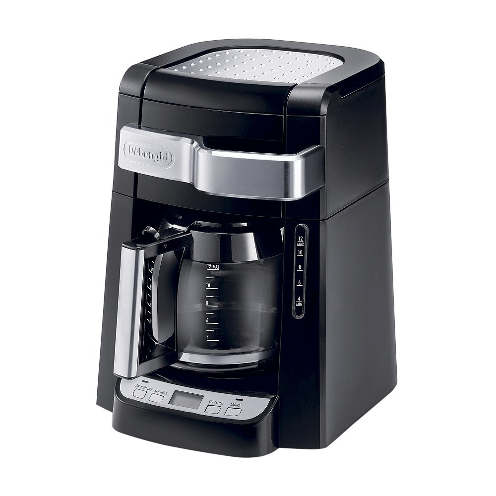 Image of Delonghi 12 Cup Drip Coffee Maker - Black