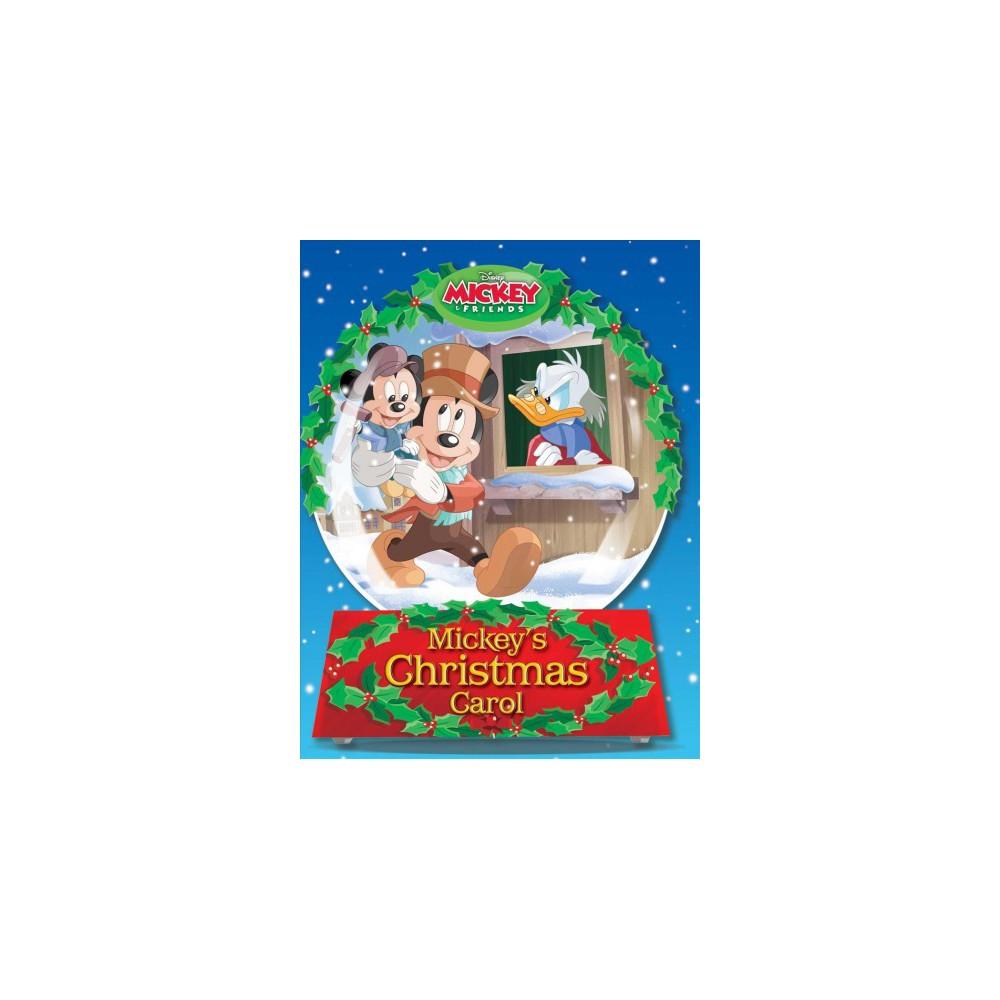Mickey's Christmas Carol - Brdbk by Megan Roth (Hardcover)