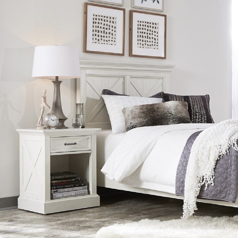 Seaside Lodge Nightstand White - Home Styles - image 1 of 1