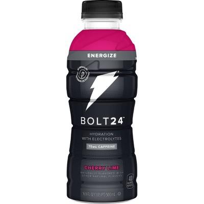 BOLT24 Energize Cherry Lime Hydration Energy Drink - 16.9 fl oz Bottle