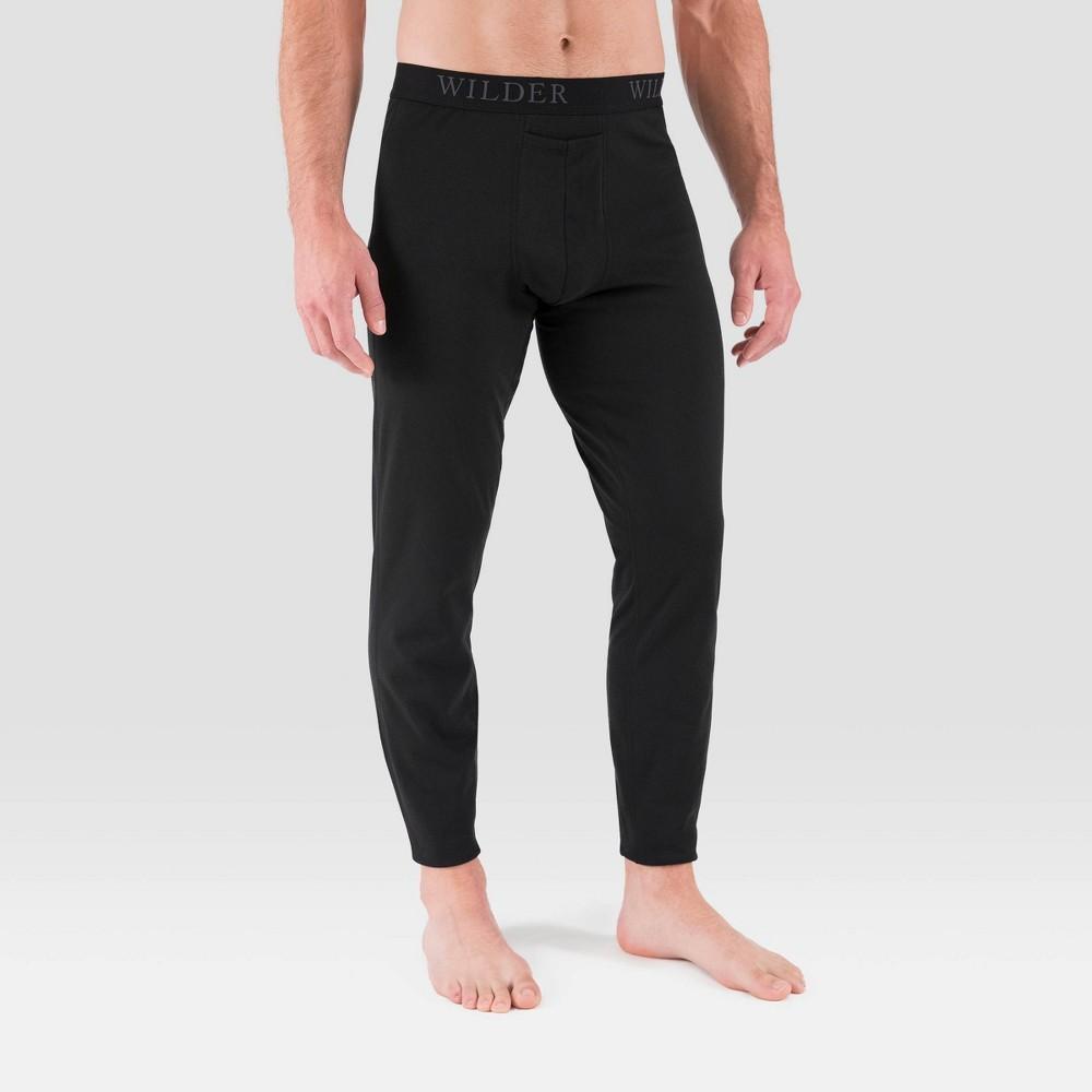 Men's Terramar 3.0 Thermal Pants – Black L, Size: Large