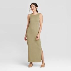 Women's Sleeveless Rib Knit Dress - A New Day™
